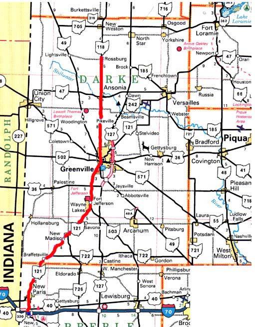 New Paris Ohio Map.Eldora Speedway